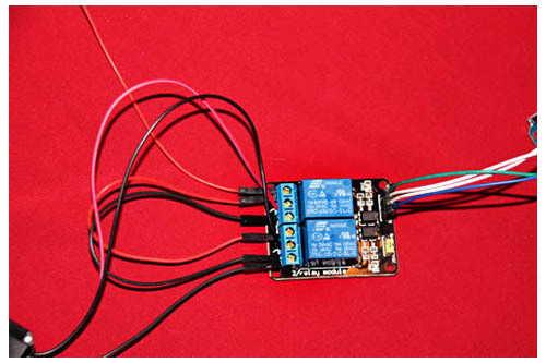 how to control a micro linear actuator using relays and the microcontroller to a power source it should immediately switch on activate the programmed code and effectively control your micro linear actuator