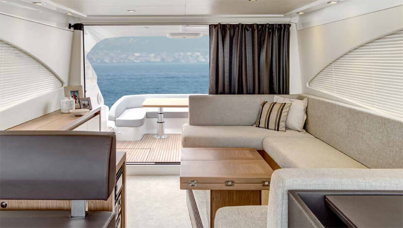 Beneteau Gran Turismo 49 Luxury Yacht Interior Designs