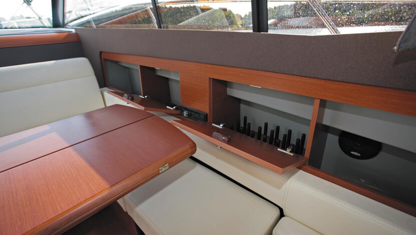 Jeanneau NC11 Luxury Yacht Interior Designs