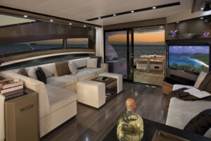 Marquis 660 Sport Yacht Luxury Yacht Interior Designs