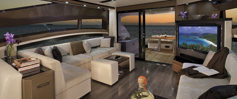 Stunning Luxury Yacht Interior Designs at the 2017 Miami Boat Show