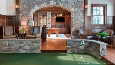 Build a Smart Man Cave with Home Automation for Father's Day: Indoor Mini Golf Course